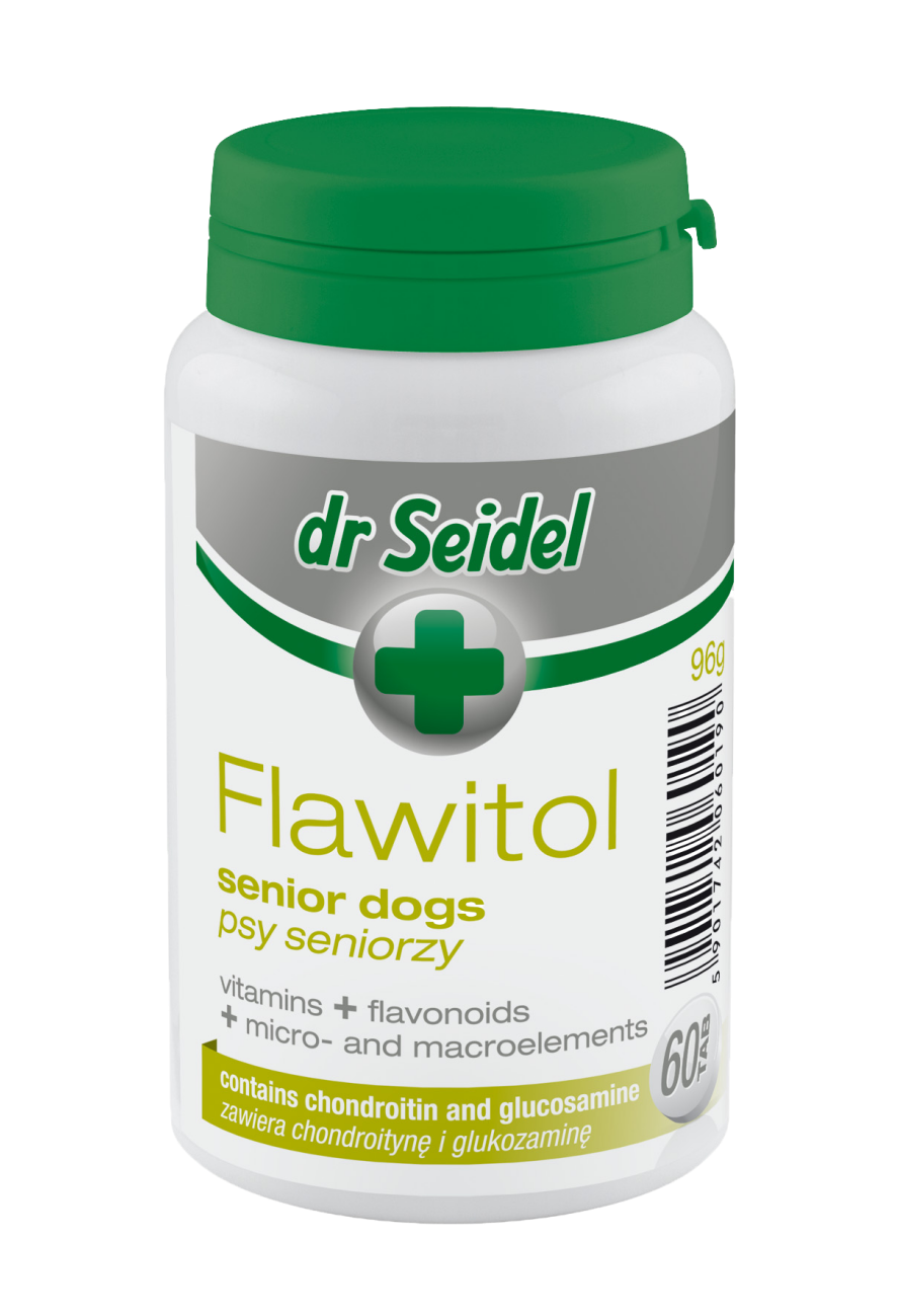 Flawitol for senior dogs (tablets)