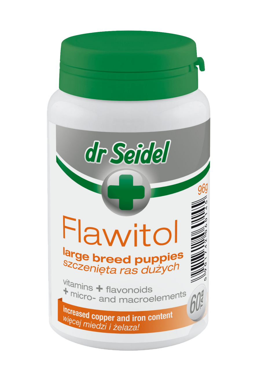 Flawitol for large breed puppies (tablets)
