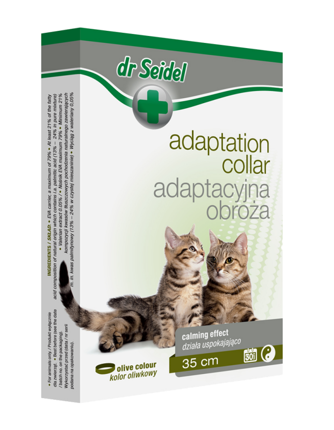 dr Seidel Adaptation collar for cats